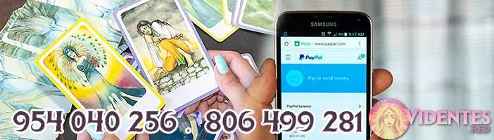 ¿Cómo se maneja el tarot por PayPal, y si es económico?